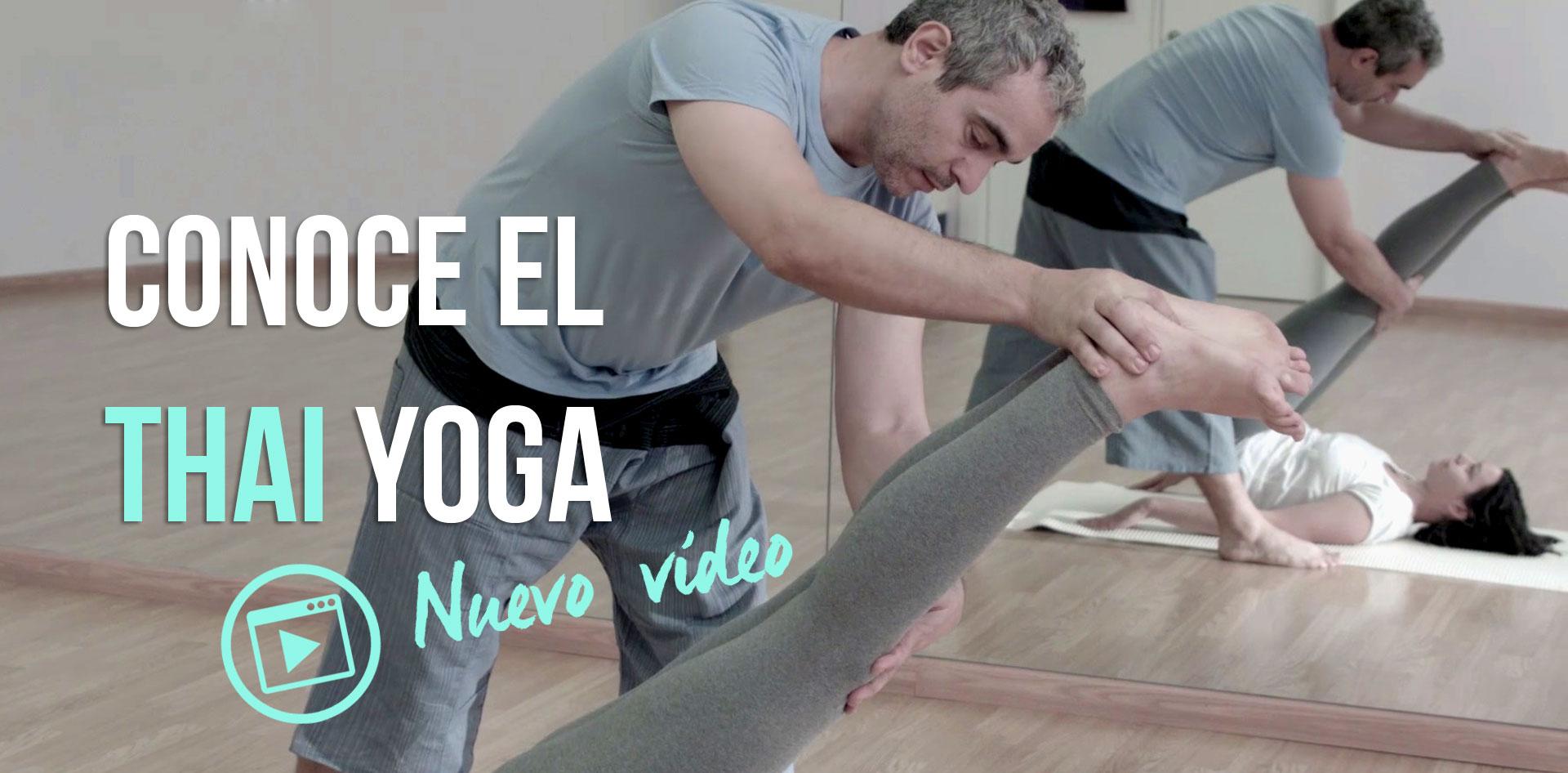 mira nuestro vídeo de yoga asistido con masaje thai