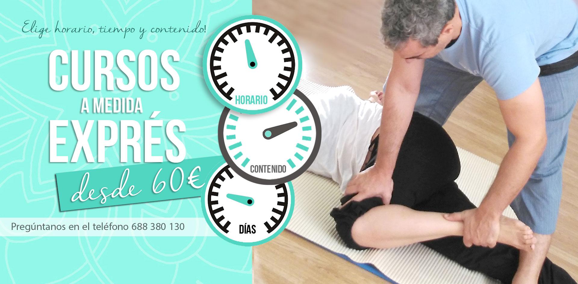 clases de masaje thai a medida y adaptadas a tu horario