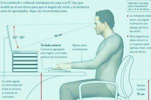 evirar problemas posturales