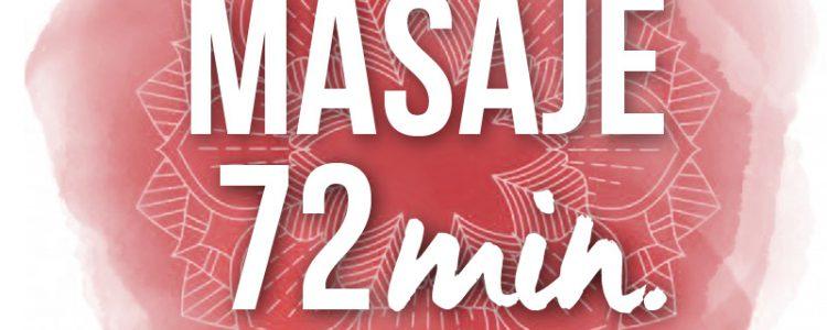 Masaje tailandés de 72 minutos con ceremonia del té y pastas