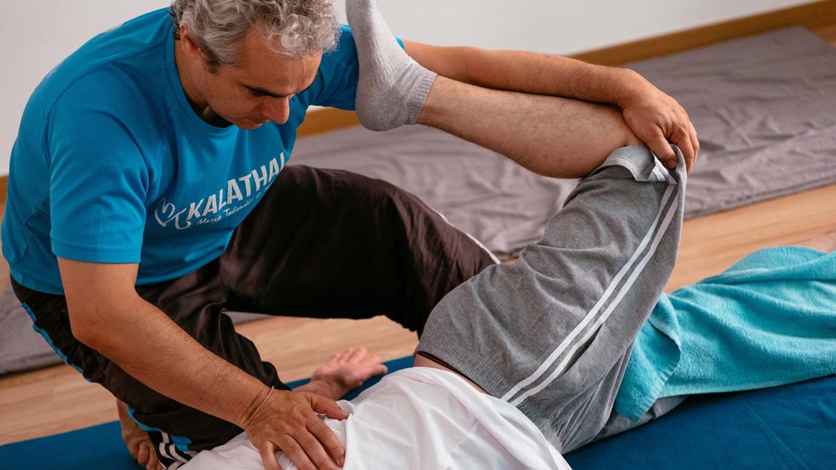 masaje thai yoga